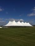 100 Wide Century Pole Tent