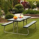 6 Foot Plastic Folding Picnic Tables
